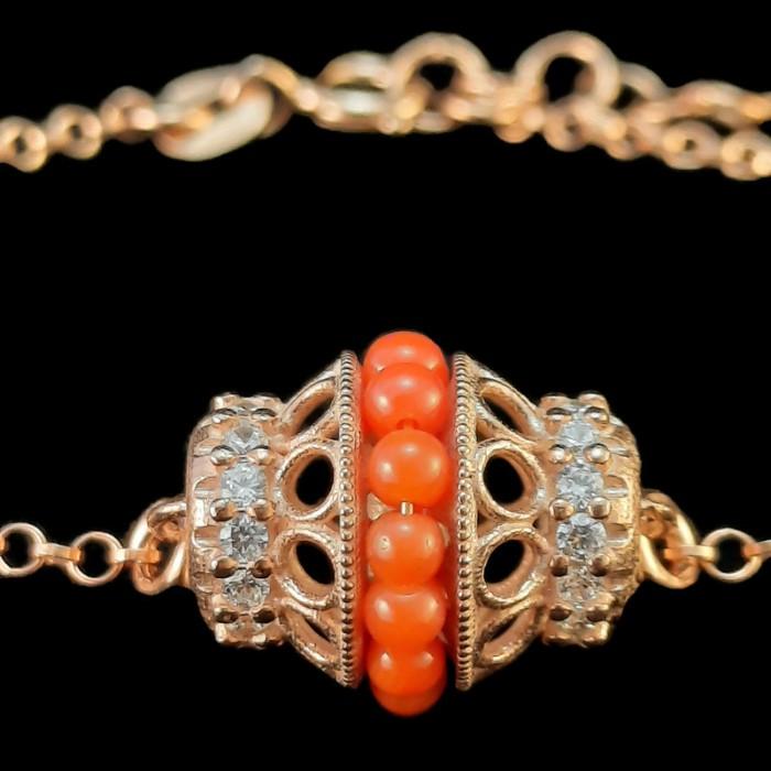 Bridgerton coral jewelry